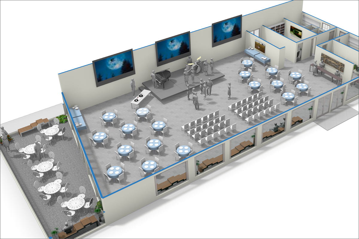 event venue u2013 rendered spaces